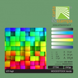 Woodstock Verde 260gr
