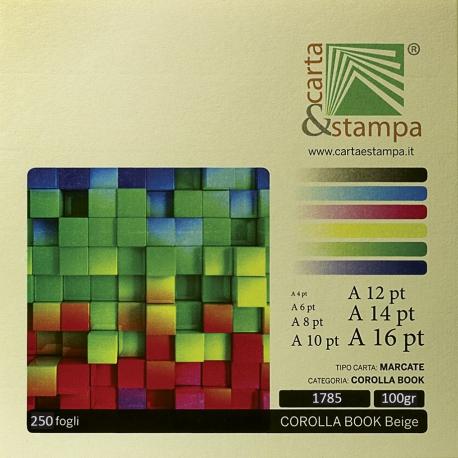 Corolla book Beige 100gr