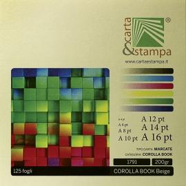 Corolla book Beige 200gr