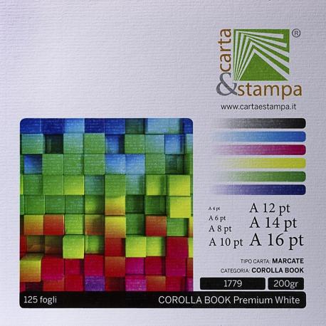 Corolla book White 200gr