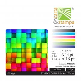 Symbol Card Premium White 210gr