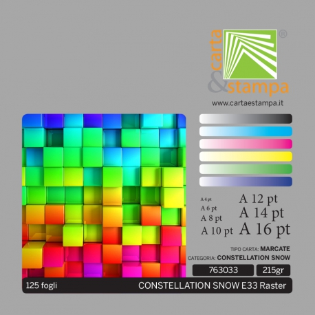 Constellation Snow E33 Raster 215gr