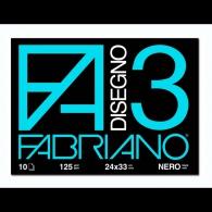 Album da disegno F3 Nero