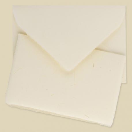 Partecipazione con paglia cartoncino doppio 12x18