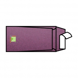 Buste Sirio color vino  22x11